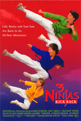 دانلود بازی 3 نینجای سگا 3Ninjas Kick Back