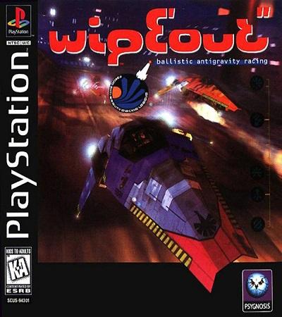 دانلود بازی WipEout کنسول ps1