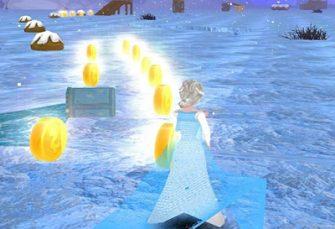 دانلود بازی دخترانه Ice Princess Run برای اندروید