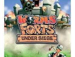 دانلود بازی Worms Forts Under Siege