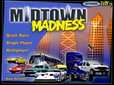 دانلود بازی قدیمی ماشین سواری Midtown Madness 1
