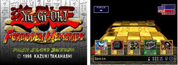 دانلود بازی Yu-Gi-Oh! - Forbidden Memories پلی استیشن 1