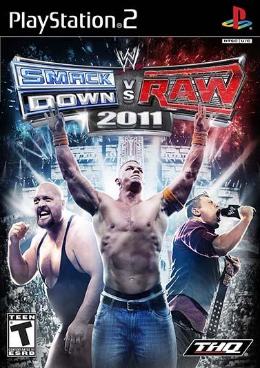 WWE SmackDown vs. Raw 2011 PS2 ISO COver Ziperto - دانلود بازیهای کشتی کج پلی استیشن ۲ برای کامپیوتر